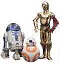 Star Wars C-3PO and R2-D2 Statue Set (2016 ArtFX) SET#2
