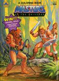 Masters of the Universe A Coloring Book SC (1984 Golden Books)  1-1ST