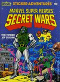 Marvel Super Heroes Secret Wars Sticker Adventures SC (1984 Marvel Books) 2-1ST