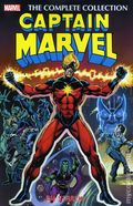 Captain Marvel TPB (2016 Marvel) The Complete Collection By Jim Starlin 1-1ST