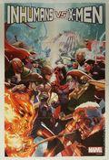 IVX Poster by Yu Leinil (2016 Marvel) Inhumans vs. X-Men ITEM#1