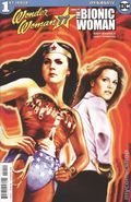 Wonder Woman '77 Meets the Bionic Woman (2016 Dynamite) 1A
