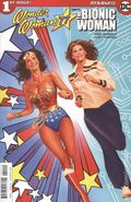 Wonder Woman '77 Meets the Bionic Woman (2016 Dynamite) 1B