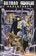 Batman Teenage Mutant Ninja Turtles Adventures (2016 IDW) 2SUBA
