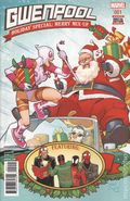 Gwenpool Holiday Special Merry Mix Up (2016) 1A