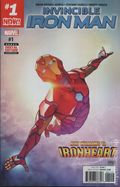 Invincible Iron Man (2016 Marvel) 1D
