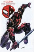 Spider-Man Deadpool (2016) 3CON