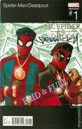 Spider-Man Deadpool (2016) 1BDFSIGNED