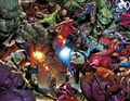 Monsters Unleashed Poster by Steve McNiven (2017 Marvel) ITEM#1
