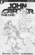John Carter The End (2017 Dynamite) 1G