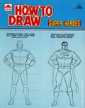 How to Draw Super Heroes SC (1983 A Golden Book) 1-1ST