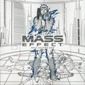Mass Effect Adult Coloring Book SC (2017 Dark Horse) 1-1ST