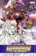 Color Your Own Guardians of the Galaxy SC (2017 Marvel) 1-1ST