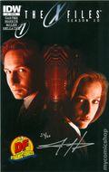 X-Files Season 10 (2013 IDW) 1DFSIGNED