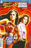 Wonder Woman '77 Meets the Bionic Woman (2016 Dynamite) 1ADFSIGNED