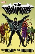 Inhumans The Origin of the Inhumans TPB (2013 Marvel) By Stan Lee and Jack Kirby 1-REP