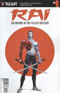 Rai History of the Valiant Universe (2017 Valiant) 1A