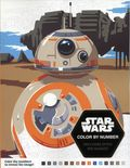 Star Wars Color by Numbers SC (2017 Disney/LucasFilm) 1-1ST