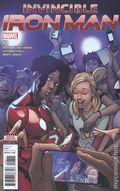 Invincible Iron Man (2016 Marvel) 8A