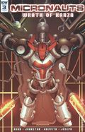 Micronauts Wrath of Karza (2017 IDW) 3RI