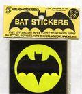 Bat Stickers (1966 Alan-Whitney Co.) 5 Glo-Colors SET#1