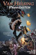 Grimm Fairy Tales Presents Van Helsing vs. Frankenstein TPB (2017 Zenescope) 1-1ST