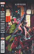 Generations Wolverine and All-New Wolverine (2017) 1A
