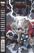 Generations Unworthy Thor and Mighty Thor (2017) 1A