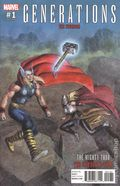 Generations Unworthy Thor and Mighty Thor (2017) 1C