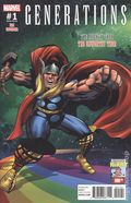 Generations Unworthy Thor and Mighty Thor (2017) 1E