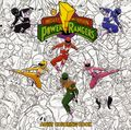 Mighty Morphin Power Rangers Adult Coloring Book SC (2017 Boom Studios) 1-1ST