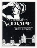 Sax Rohmer Dope HC (2017 IDW) 1-1ST