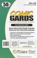 Comic Sleeve: Mylar Standard Comic-Guard 50pk (#058-050)