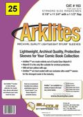 Comic Sleeve: Magazine Arklite 25pk (#163-025)