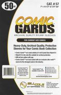 Comic Sleeve: Mylar Current Comic-Guard 50pk (#057-050)
