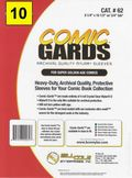 Comic Sleeve: Mylar Super Gold Comic-Guard 10pk (#062-010)