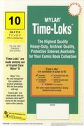 Comic Sleeve: Standard Time-Loks 10pk (#714-010)