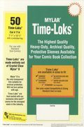 Comic Sleeve: Mylar Standard Time-Loks 50pk (#714-050)