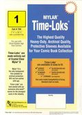 Comic Sleeve: Silver/Gld Time-Loks 1pk (#734-001)
