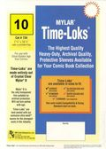Comic Sleeve: Silver/Gld Time-Loks 10pk (#734-010)