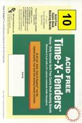 Comic Boards: Standrd Time-X-Tender 10pk (#026-010)