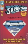Superman The Man of Steel (1991) 22D-DFSIGNED