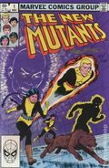 New Mutants (1983 1st Series) 1DF