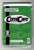Comic Bags: Golden 100pk Polypropylene 