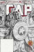Cap A Universe X Special (2001) DF Black and White 1