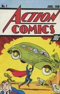 Action Comics (1938 DC) #1 Reprints 1-1992-10CENT