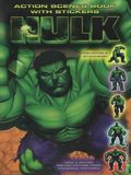 Hulk Action Scenes Book with Stickers (2003) 1