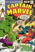 Captain Marvel (1968 1st Series Marvel) 21