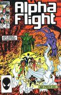 Alpha Flight (1983 1st Series) 24