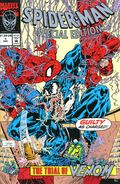Spider-Man Special Edition Trial of Venom (1992) UNICEF 1